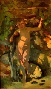 Xiquet-sota-la-parra-1905